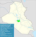 Iraqi parliamentary election, 2010 result-Karbala.jpg