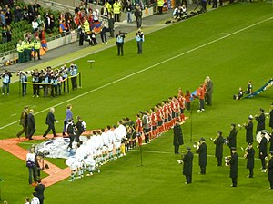 Football in Armenia - October 11, 2011, Ireland vs. Armenia, Aviva Stadium, Dublin