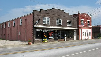 National Register of Historic Places listings in Breckinridge County, Kentucky - Image: Irvington Historic District
