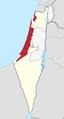 Israeli Coastal Plain region in Israel.png