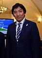 Isshu Sugawara cropped 1 Yukiya Amano Isshu Sugawara and Toshiro Ozawa 20130627.jpg