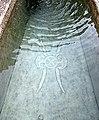 Italien, Südtirol, Haderburg, Brunnen, Symbol.JPG