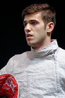 Iulian Teodosiu Sabre fencer