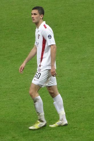 Ivan Kecojević - Kecojević with Gaziantepspor in 2013