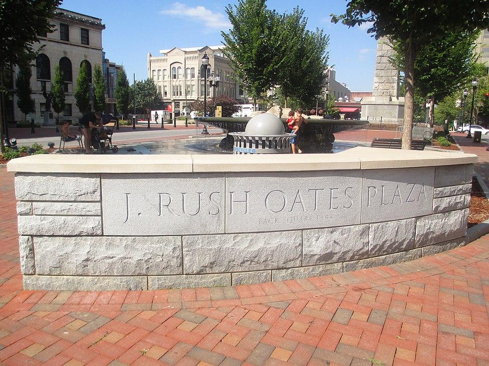J. Rush Oates Plaza, Asheville, NC IMG 5210