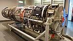 J79-IHI-11A turbojet engine(cutaway model) right front view at JASDF Hamamatsu Air Base Publication Center November 24, 2014.jpg