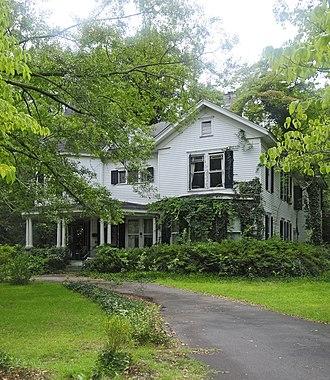 J. B. Holman House - J. B. Holman House, August 2012