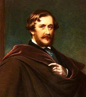 James Harris, 3rd Earl of Malmesbury - Portrait of James Harris, 3rd Earl of Malmesbury by James Godsell Middleton (1852)
