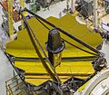 JWST's Golden Mirror Revealed (26629435941).jpg