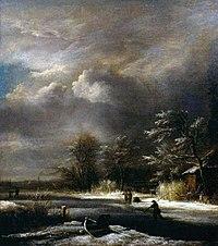 Jacob van Ruisdael - Winter Landscape with Skaters.jpg