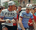 Jacques Anquetil and Felice Gimondi, Giro d'Italia 1966.jpg
