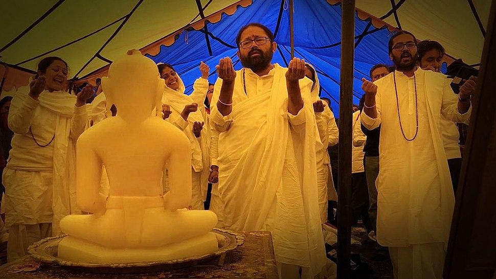 Jains at Kailash