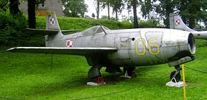 Yakovlev Yak-23 - Polish Yak-23 in the Lubuskie Muzeum Wojskowe, Drzonów
