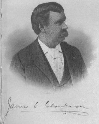 James S. Clarkson - Image: James S Clarkson