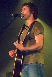 James Blunt performing in Vienna in 2006