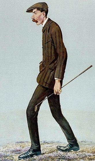 James Braid (golfer) - Braid caricatured by Spy for Vanity Fair, 1907