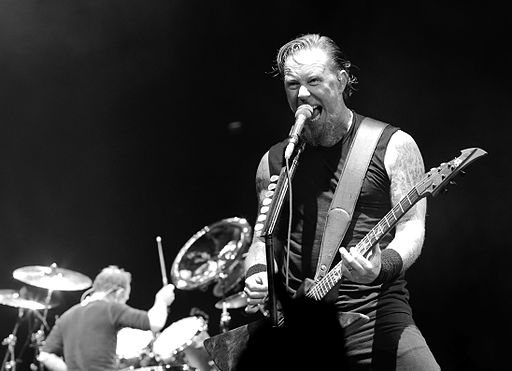 James Hetfield live in London 2008-09-15 2