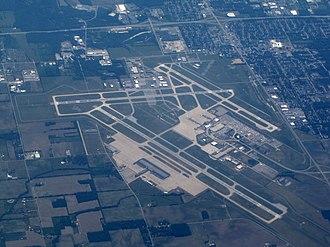 Dayton International Airport - Airport in June 2012
