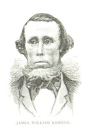 James Esmond - An 1888 illustration of Esmond