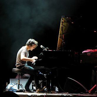 Jamie Cullum - Cullum performing at Colours of Ostrava, July 2009