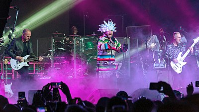 Picture of a band or musician: Jamiroquai