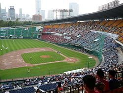 Jamsil Baseball Stadium located in Jamsil 1-dong