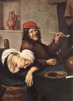 Jan Steen - The Drinker (detail) - WGA21743.jpg