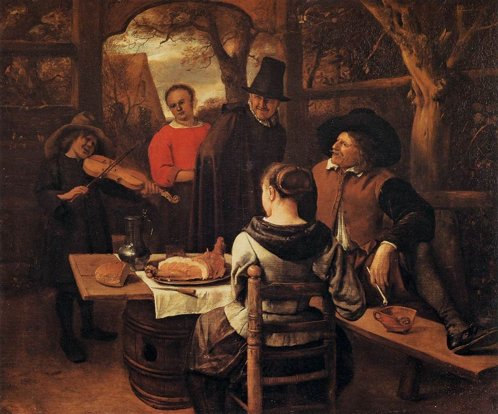 The Meal by Jan Steen