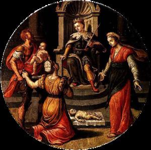 Jan Woutersz van Cuyck - Judgment of Solomon from City Hall, Dordrecht.