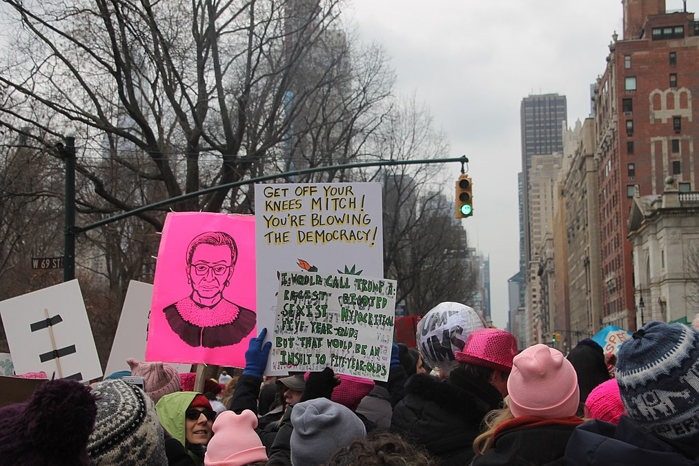 January 2019 Women's Alliance march in NYC (46806303841).jpg
