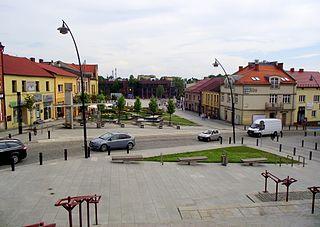 Jaworzno Place in Silesian Voivodeship, Poland