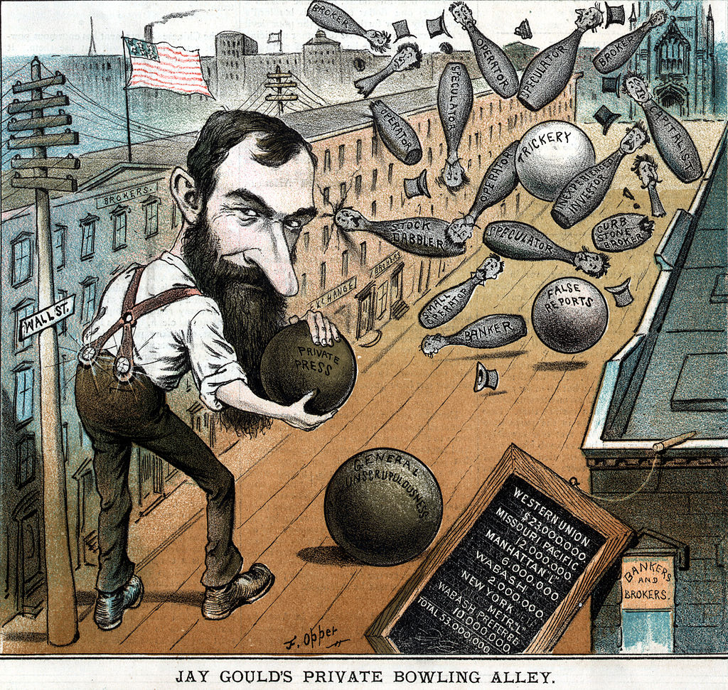 Jay Gould's Private Bowling Alley - Opper 1882.jpg