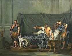 Jean-Baptiste Greuze: Septimius Severus and Caracalla