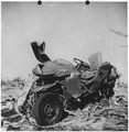 Jeep damaged by tornado. Udall, Kansas - NARA - 283888.tif