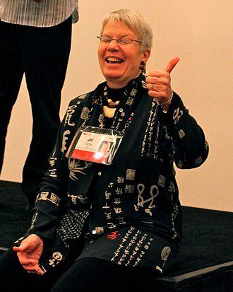 Jill Tarter - Tarter at TED. Photograph by Steve Jurvetson.