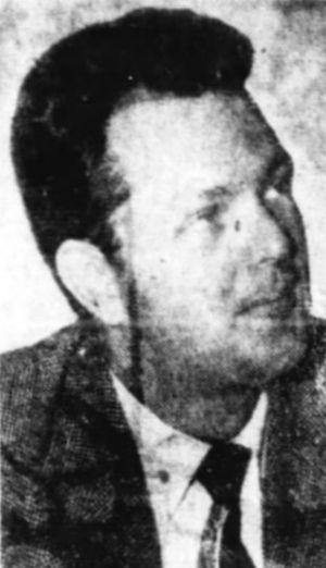 Jim Byron - Byron in 1954