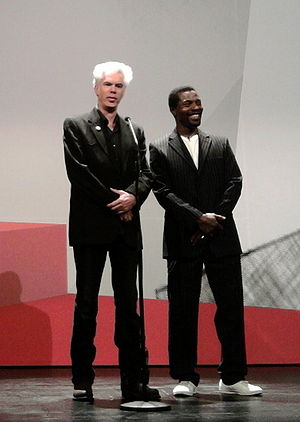 Jim Jarmusch - Jarmusch (left) and Isaach de Bankolé (right) promoting The Limits of Control at the San Sebastian International Film Festival in September 2009.