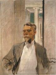 Portrait of Charles M. Kurtz, Founding Director, Albright Art Gallery (1905-1909)