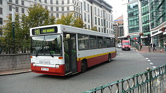 Dennis Dart - Joe's Travel 1994 Plaxton Pointer-bodied Dennis Dart in Birmingham in September 2010