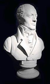 Andreas Streicher, Büste von Franz Klein (Quelle: Wikimedia)