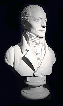 Andreas Streicher—bust by Viennese sculptor Franz Klein (Source: Wikimedia)