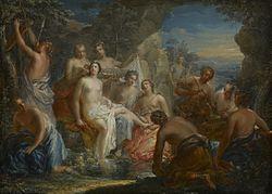 Johann Georg Platzer: The Bath of Diana