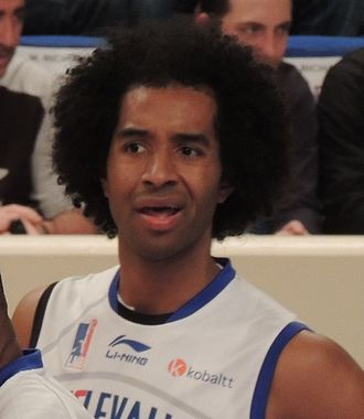 John Cox (basketball, born 1981) - Cox with Paris-Levallois, in 2012.