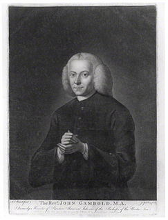 John Gambold British bishop of the Moravian church