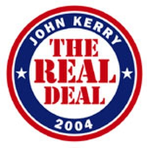 "John Kerry presidential campaign, 2004 - ""The Real Deal"""