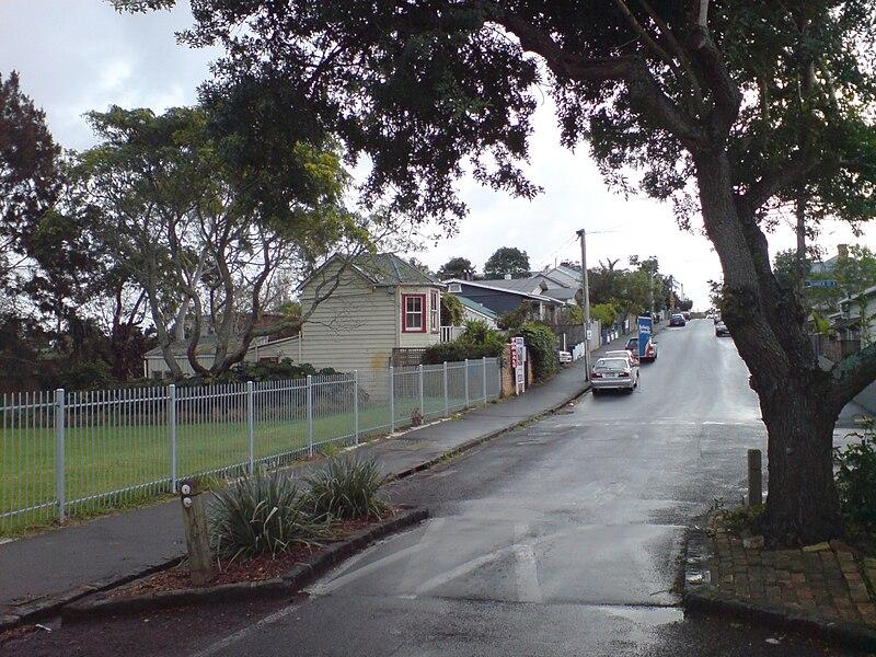 File:John Street In Ponsonby Suburb Auckland.jpg