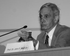 Brouwer fixed-point theorem - John Nash used the theorem in game theory to prove the existence of an equilibrium strategy profile.