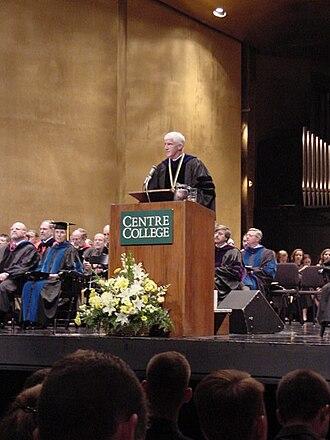 John A. Roush - John Roush addressing the entering class of 2004.
