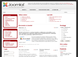 Screenshot di Joomla!