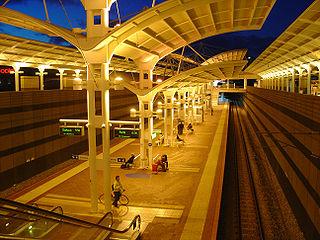 Joondalup railway station Railway station in Perth, Western Australia